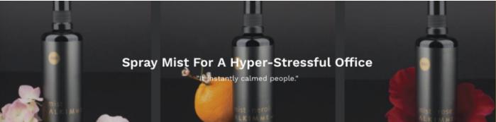 face spray for stress