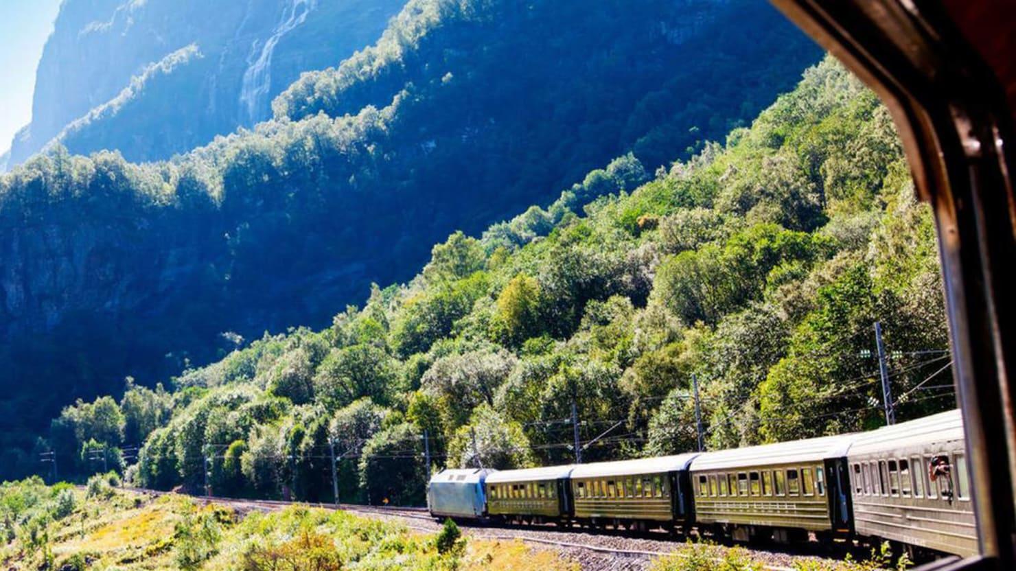 Train Ride Bergen to Oslo