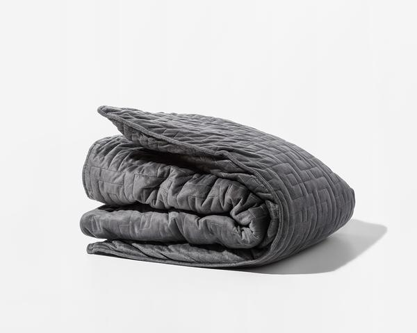 This  Gravity blanket really turned heads when it launched, raising over $3M on the Kickstarter campaign. It's also come with its  fair share of controversy when the FDA cracked down on its claims.