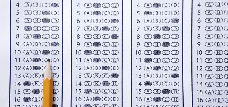 SAT test anxiety