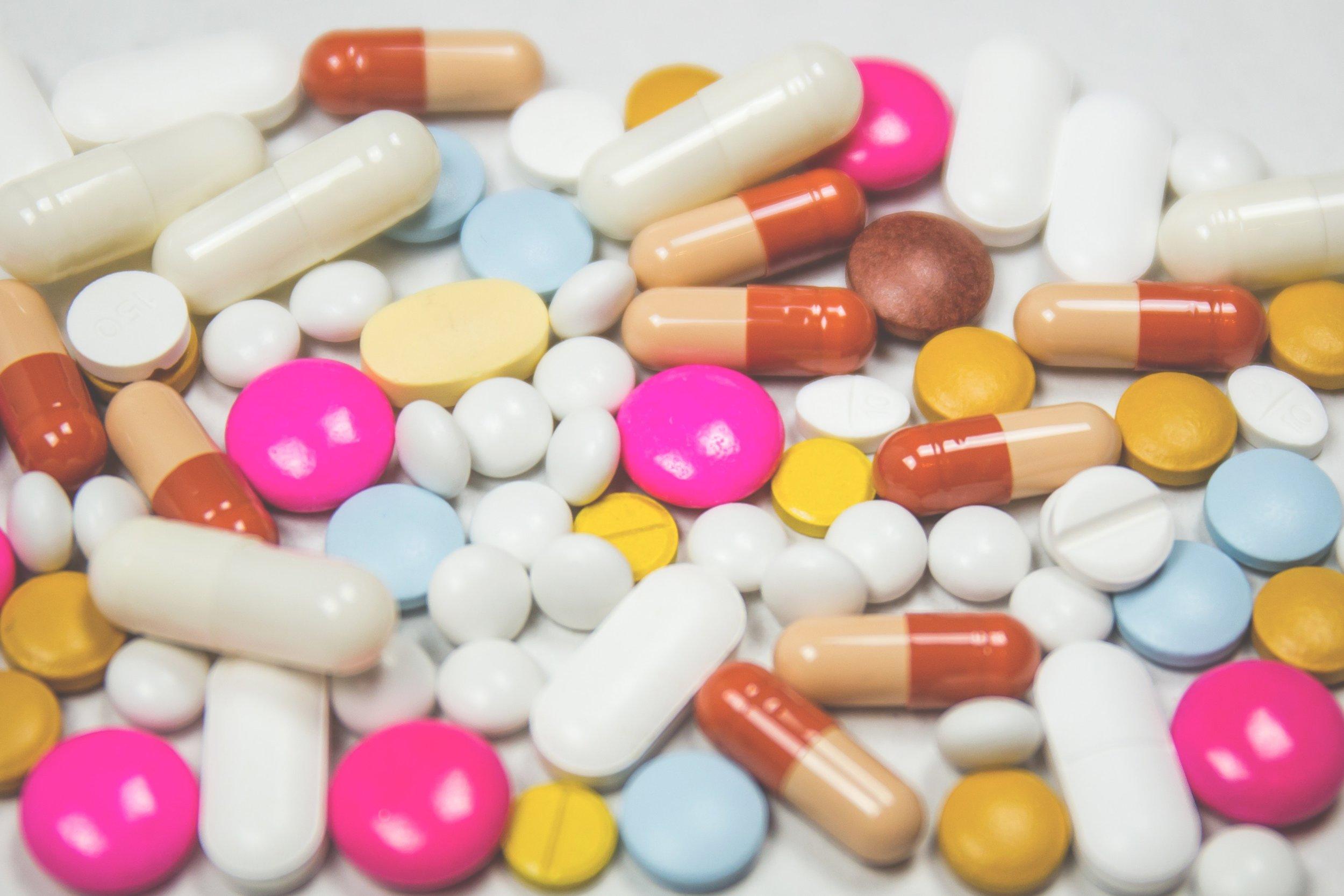 pills, pills, pills, pills, pills