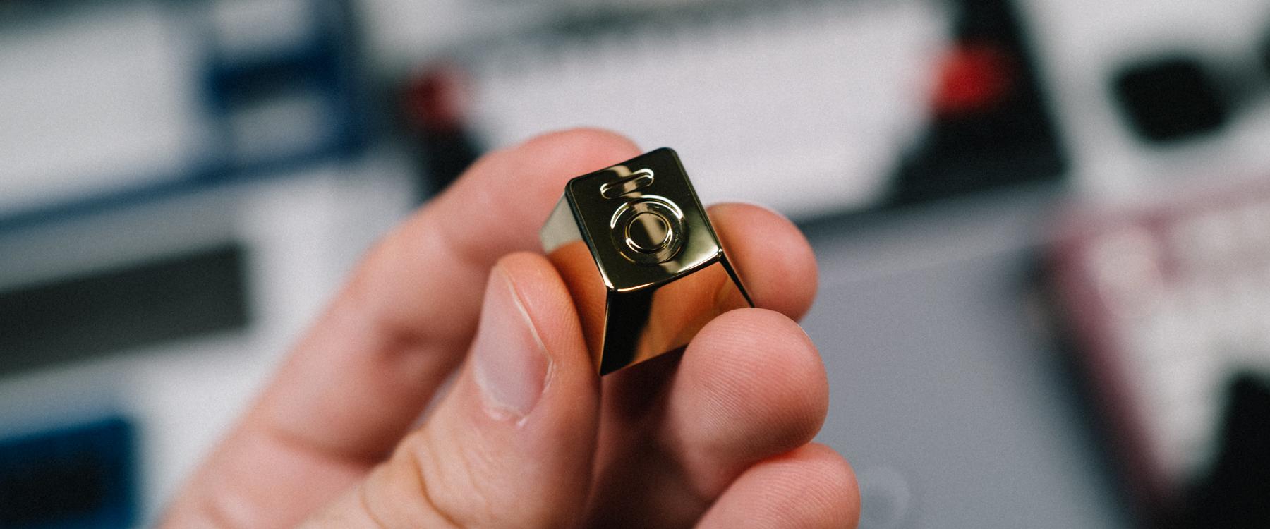 GMK Bento - GOLD PVD - Brass