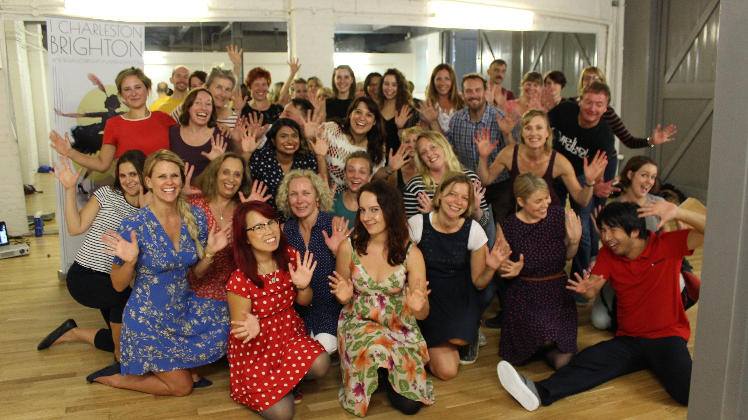 MyCharleston Dance Workshop Brighton