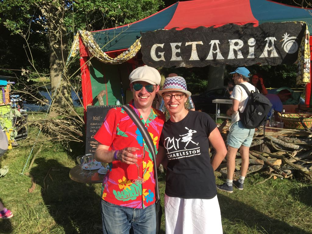 MyCharleston dancers:Fiona and her husband Tom