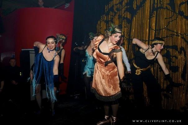 Fiona and Elena's first performance in February 2013.