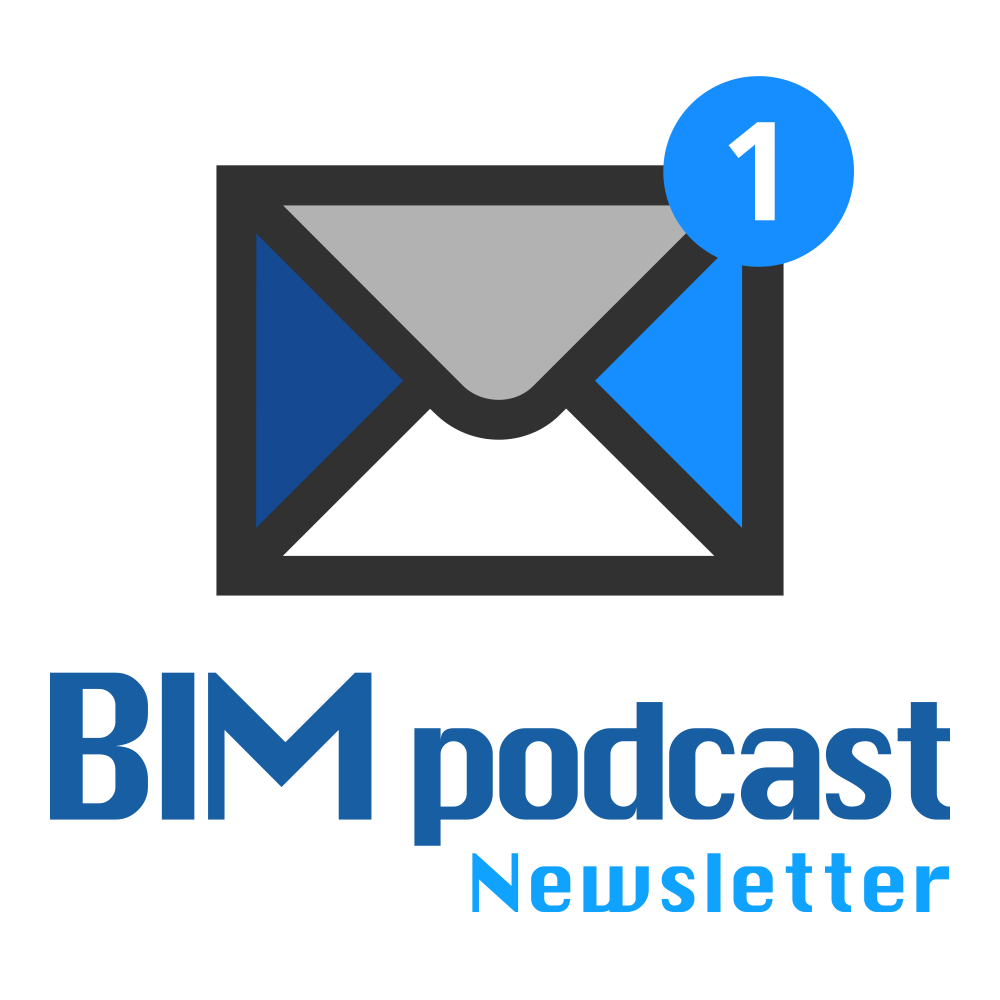 BIM podcast Newsletter  Logo / Artwork (1000x1000 px)