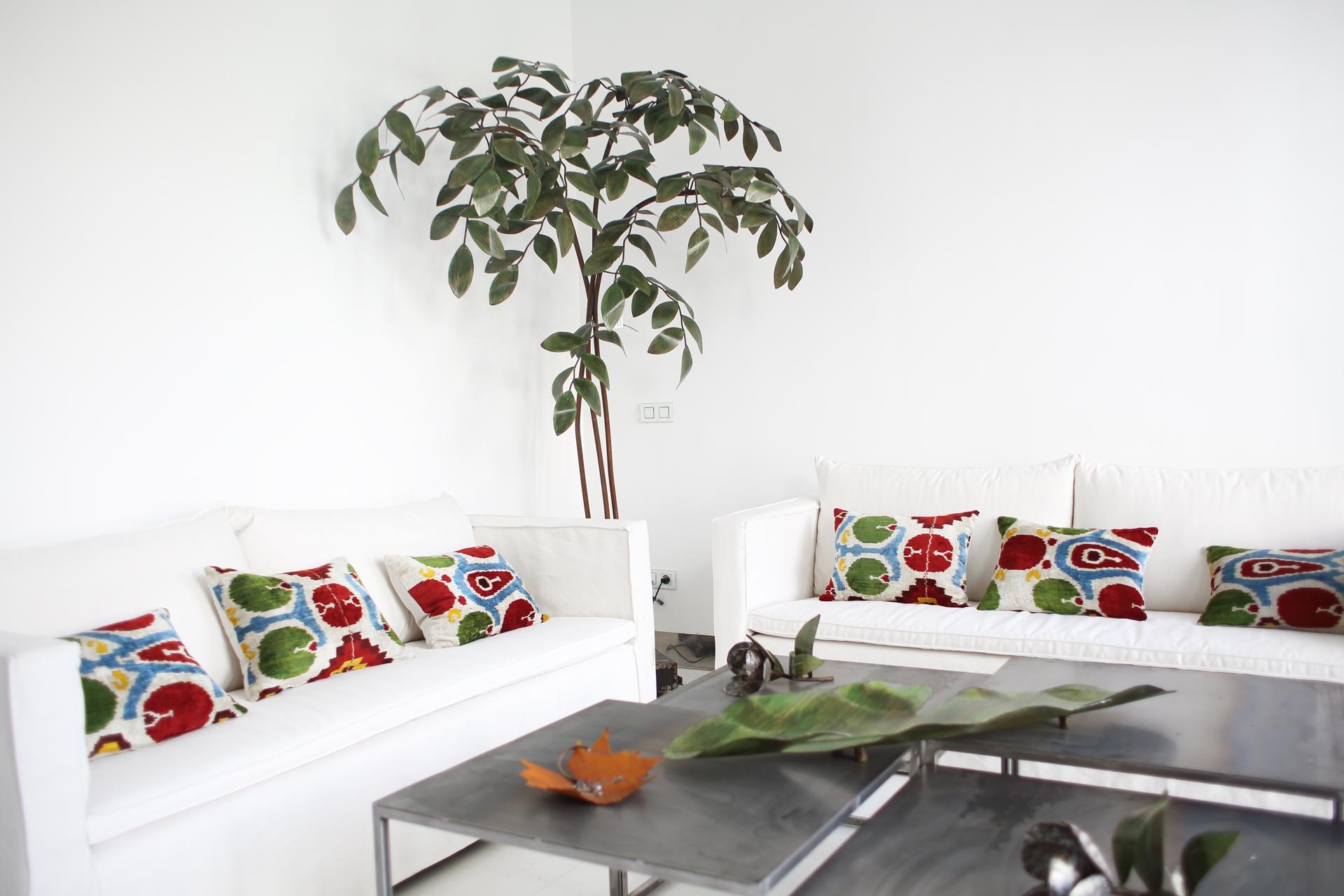 Árbol 5, pátina verde