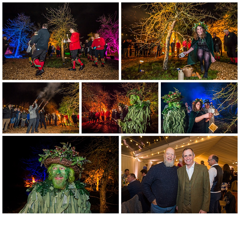 Some images from this years Thatchers Cider Wassail