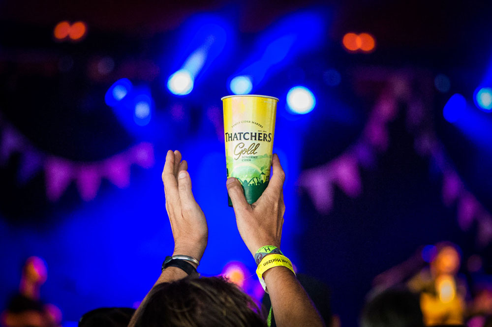 PR Photography with Thatchers Cider at The Glastonbury Festival