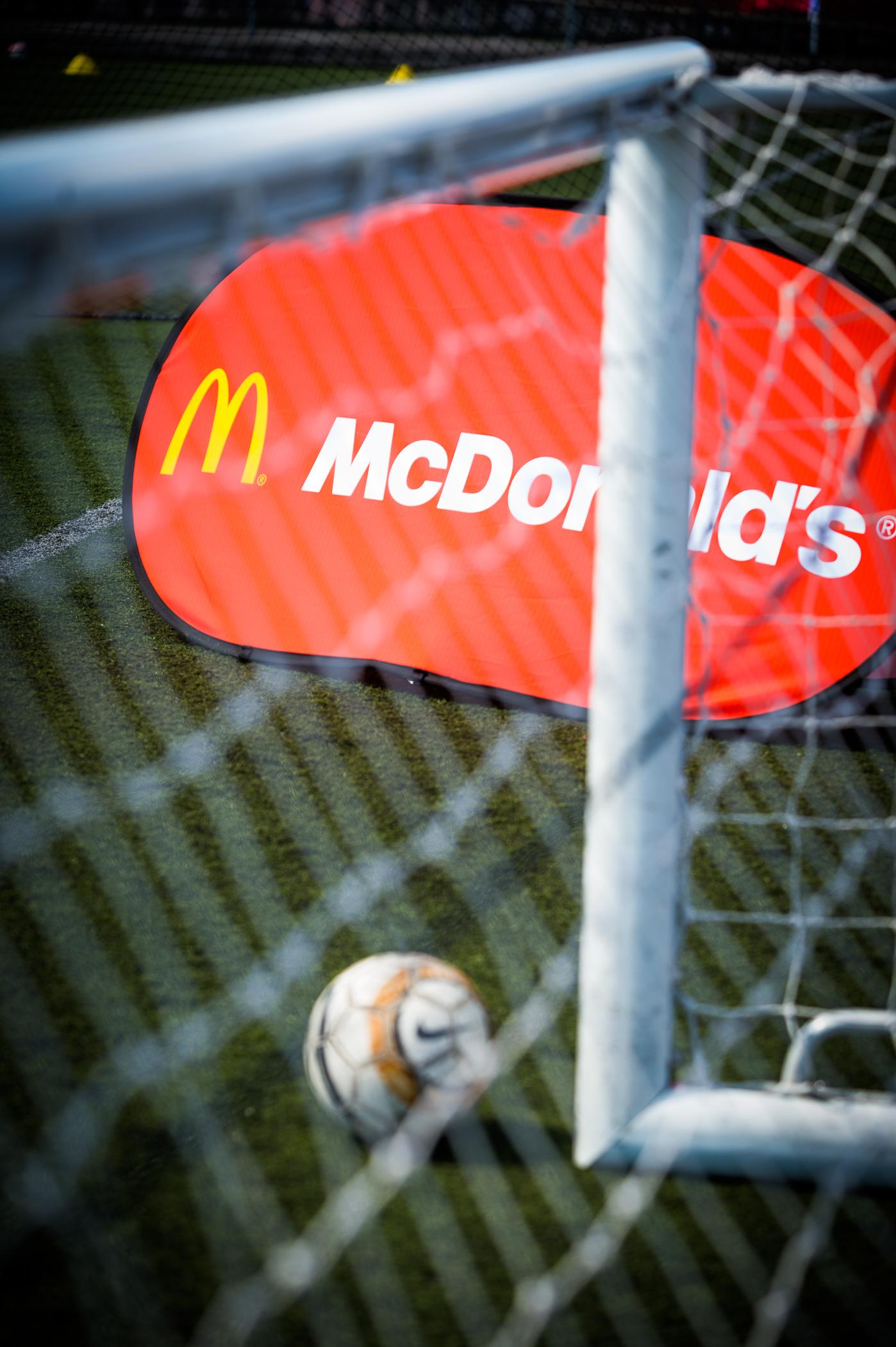 Sport with McDonalds, PR Photographer in Bristol