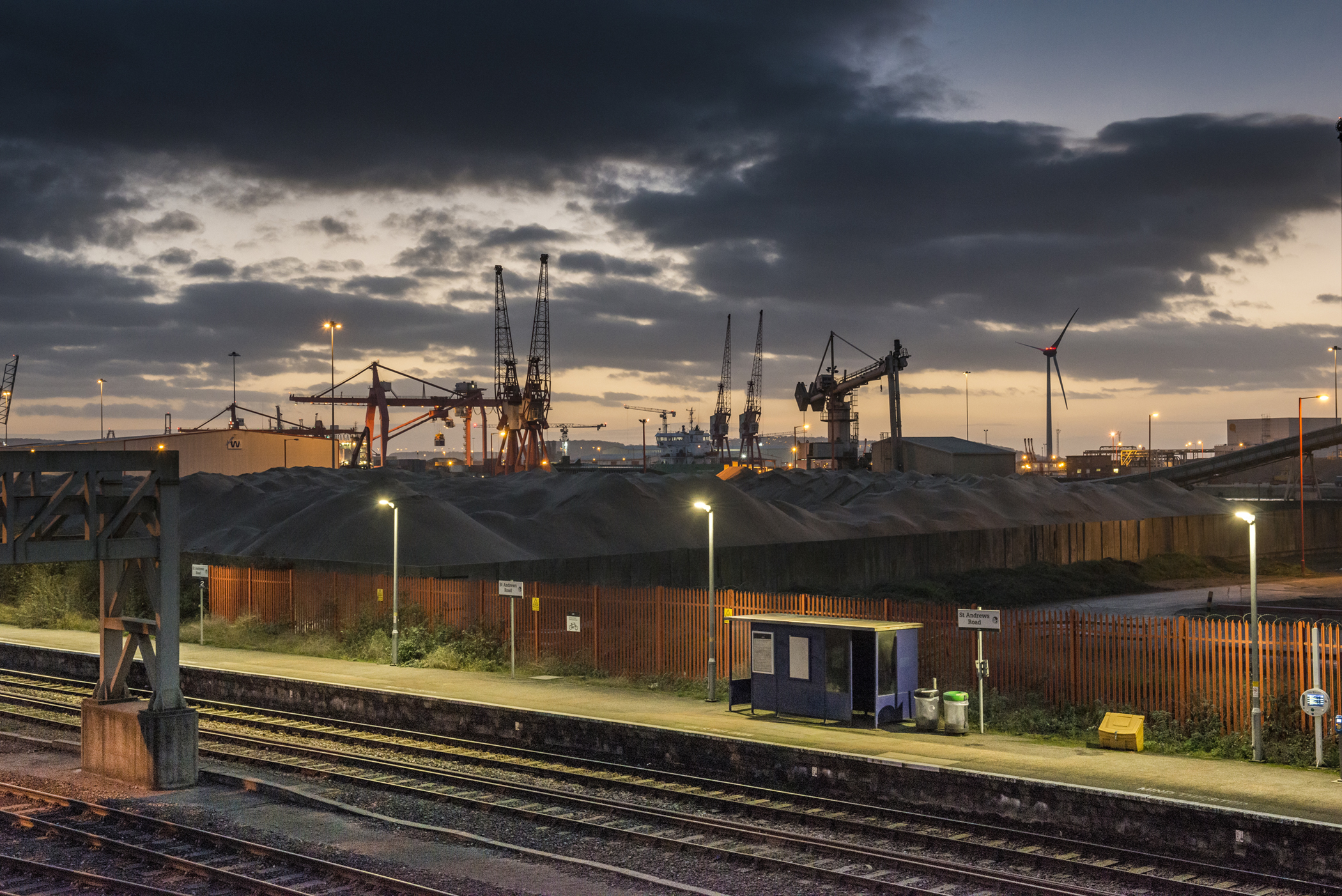 St Andrews Station, Severn Beach Line, GWR, Commercial Photographer in Bristol,