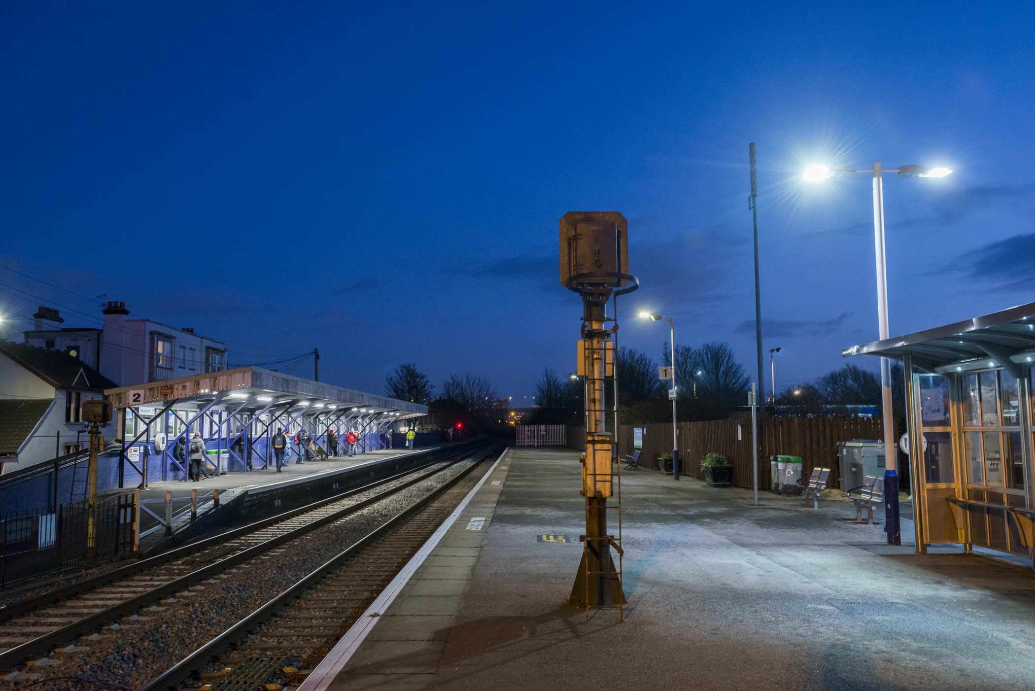 Avonmouth Train Station Station, Severn Beach Line, GWR, Commercial Photographer in Bristol,