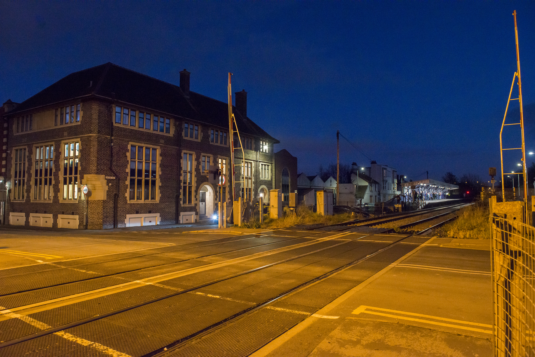Avonmouth Train Station, Severn Beach Line, GWR, Commercial Photographer in Bristol,
