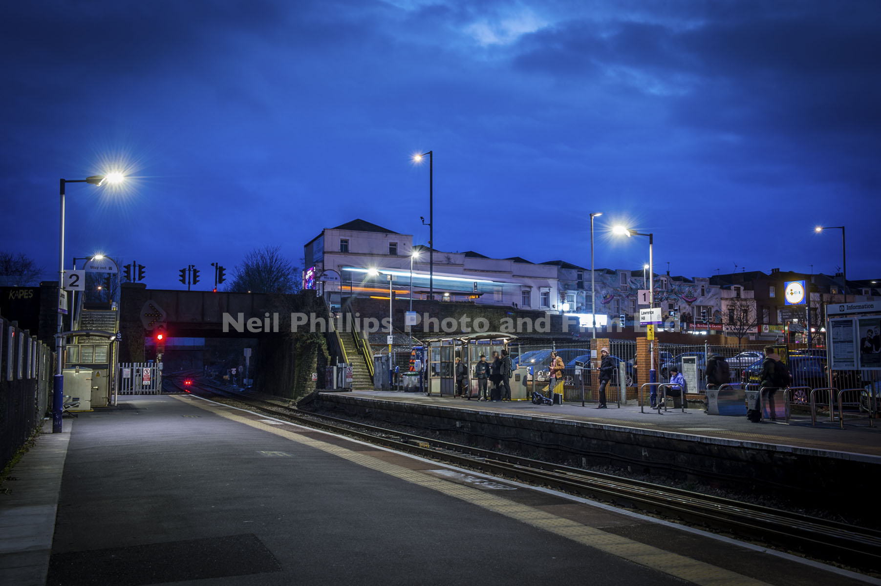 Lawrence Hill Station, Severn Beach Line, GWR, Commercial Photographer in Bristol,