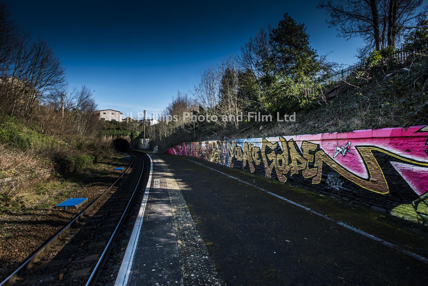Montpelier Station, Severn Beach Line, GWR, Commercial Photographer in Bristol, Bristol Graffiti