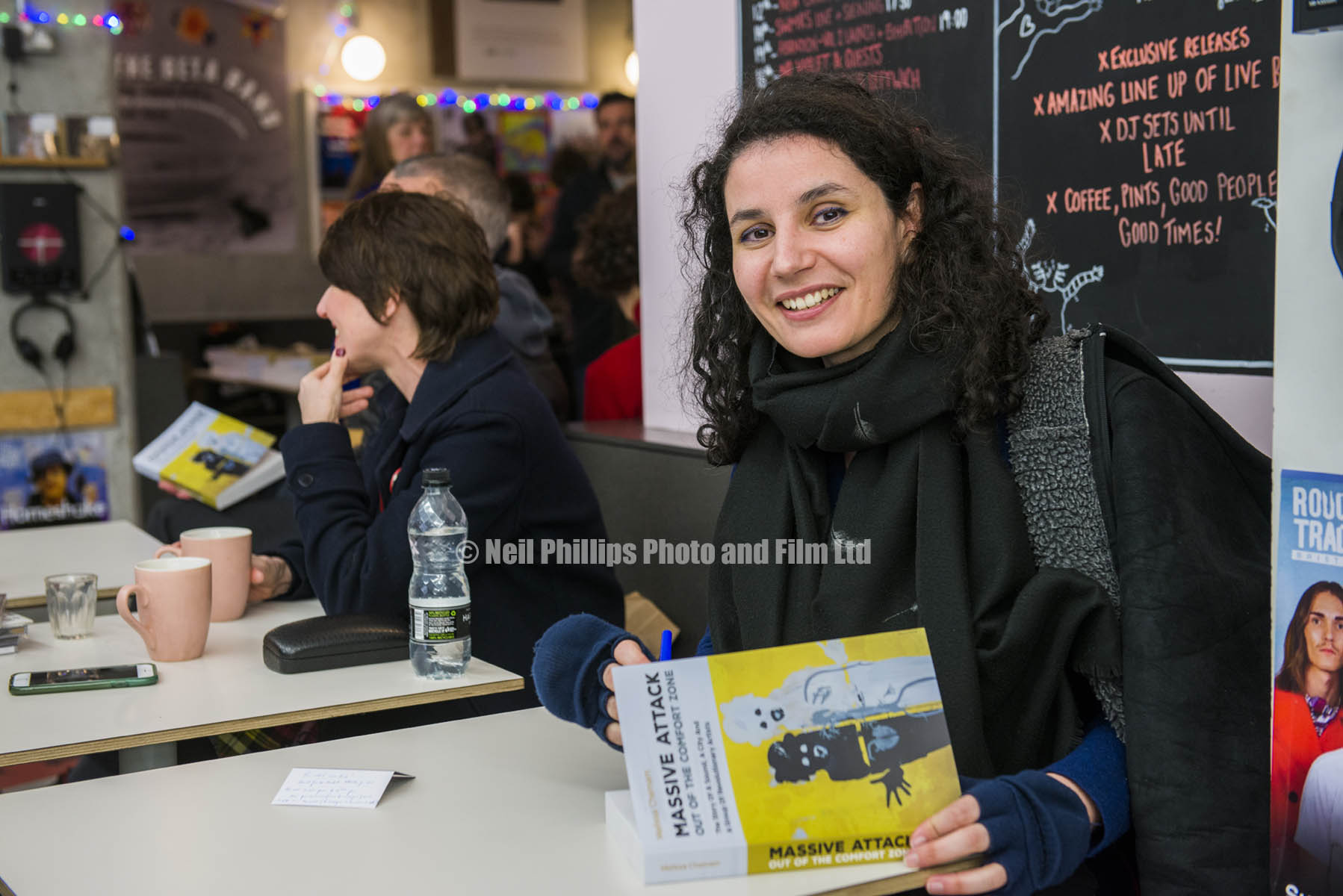 Melissa Chemam, author who wrote the Massive Attack Book,  Out of the Comfort Zone