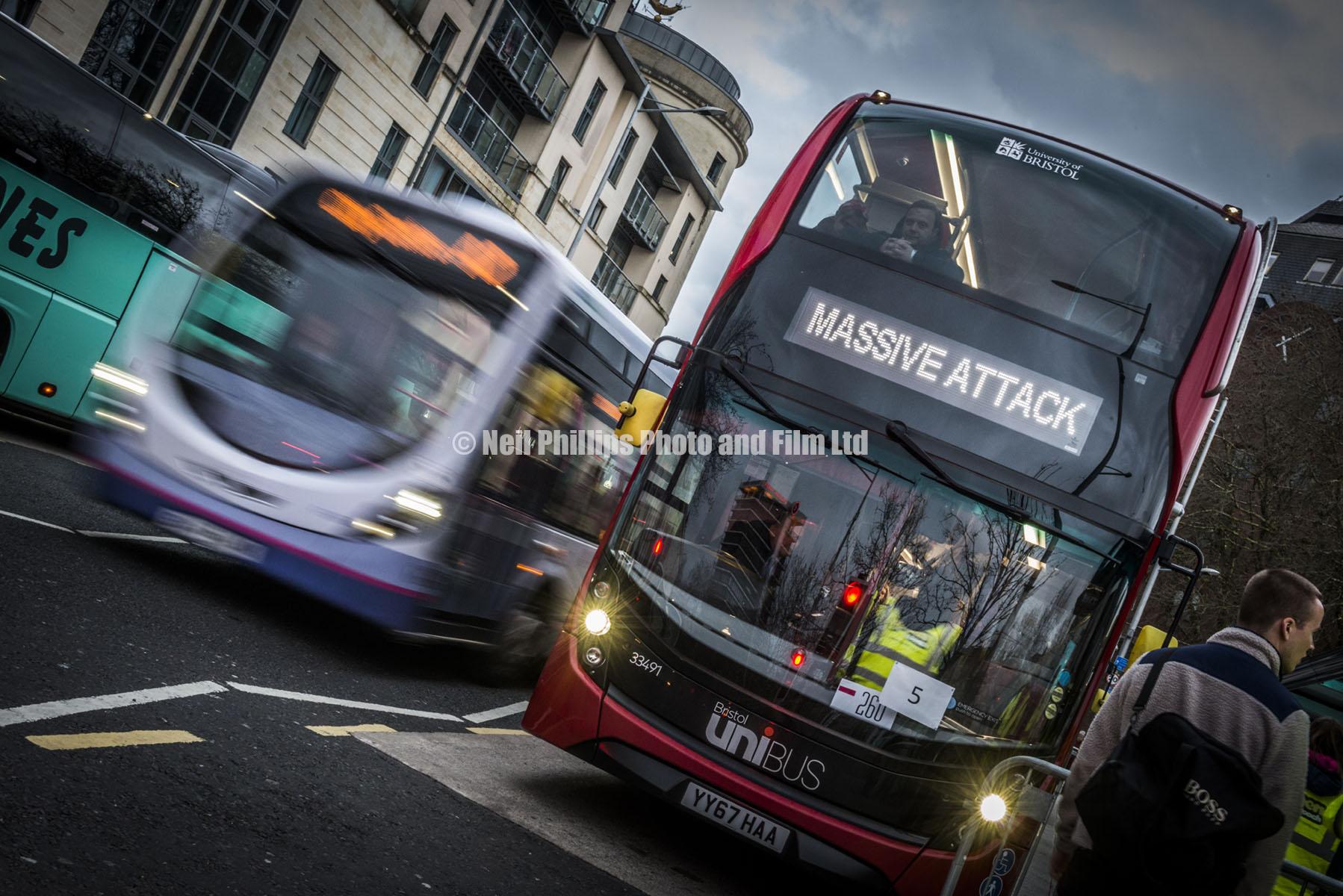 Massive Attack Bus, Bristol