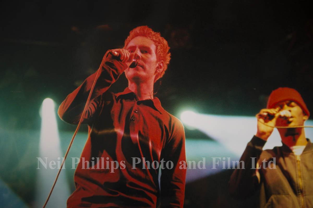 Massive Attack, Glastonbury 1997