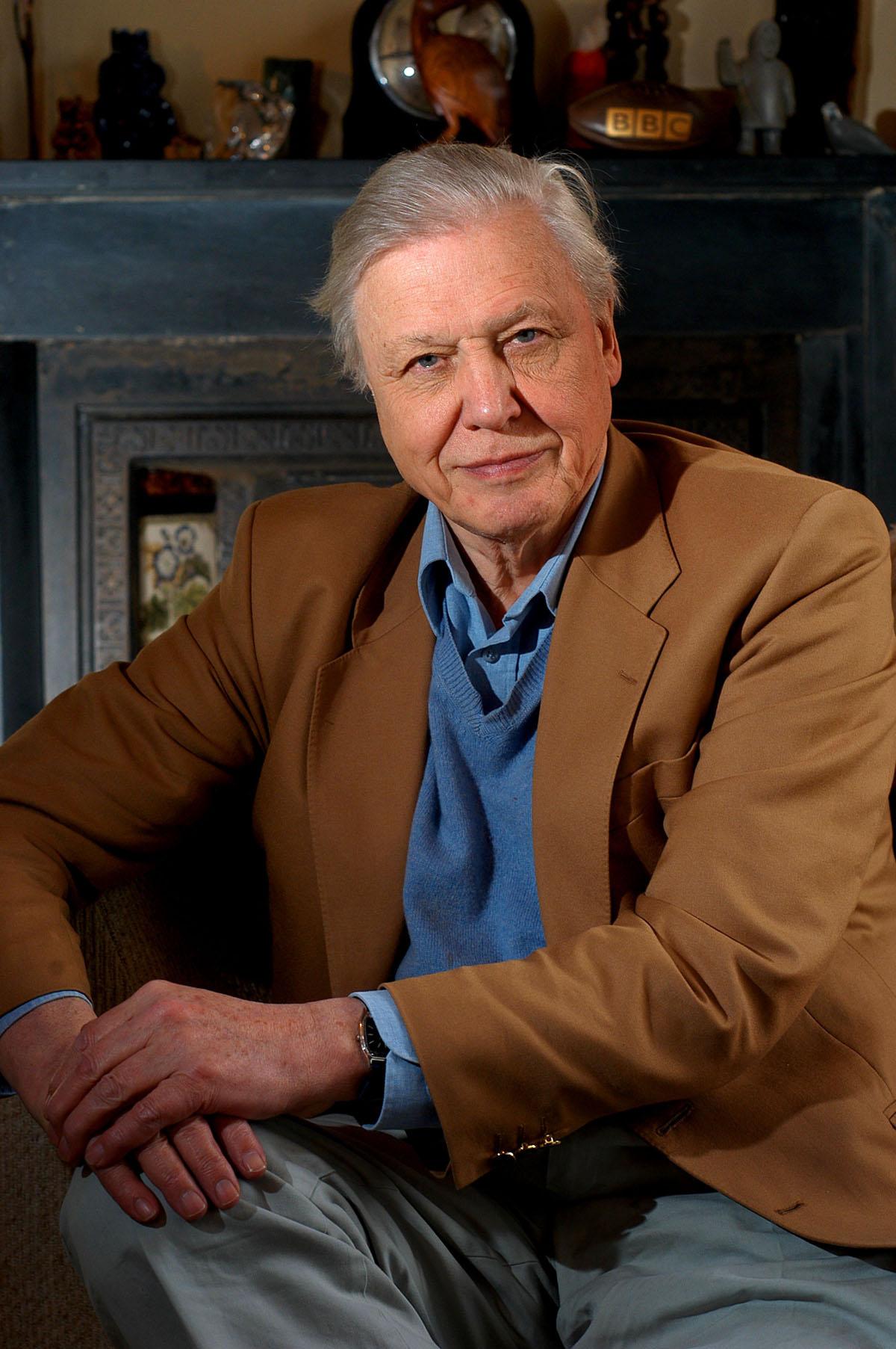 David Attenborough, Press Photographer in Bristol
