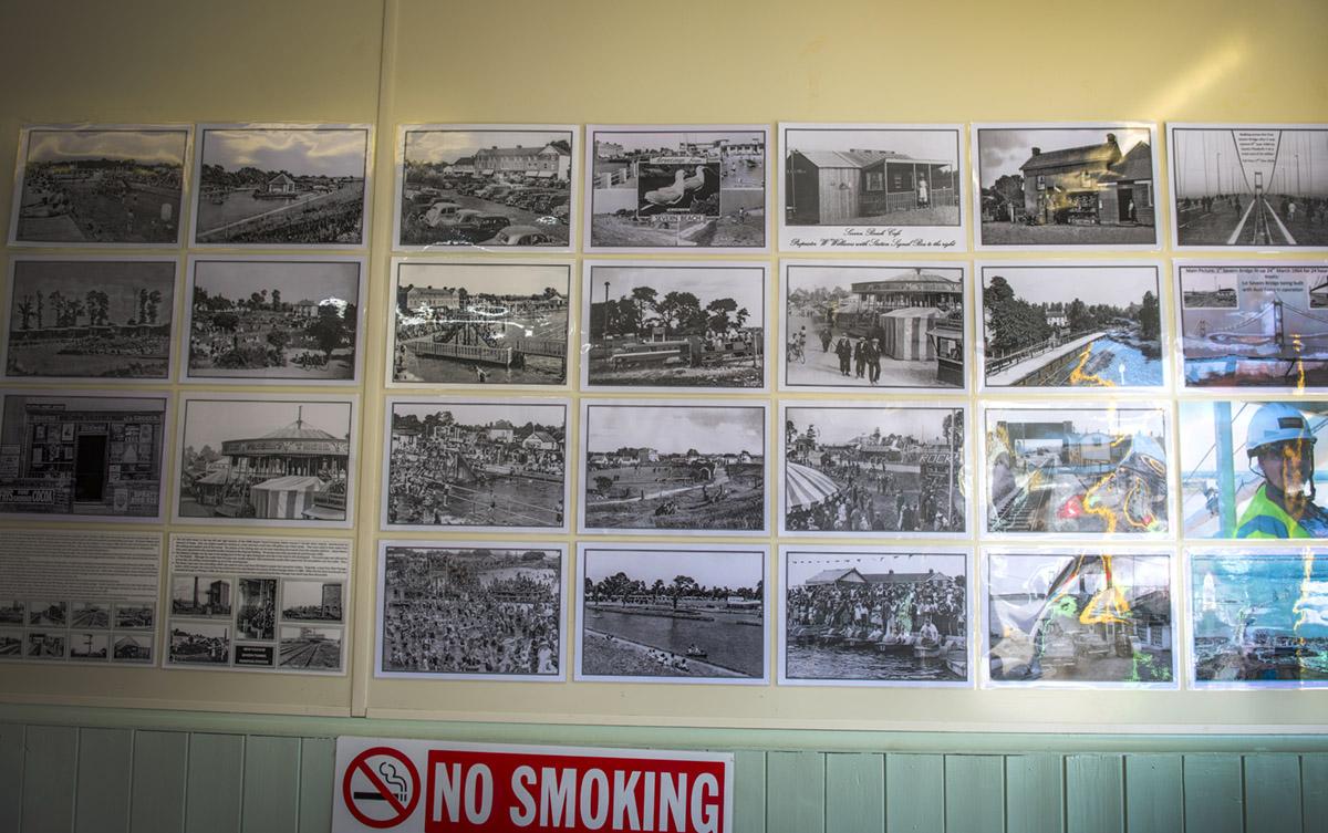 The Severn Beach Line, photograph in Bristol