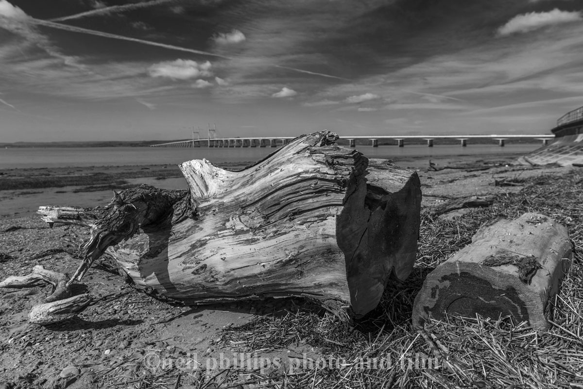 Second Severn Crossing, The Severn Beach Line, photograph in Bristol