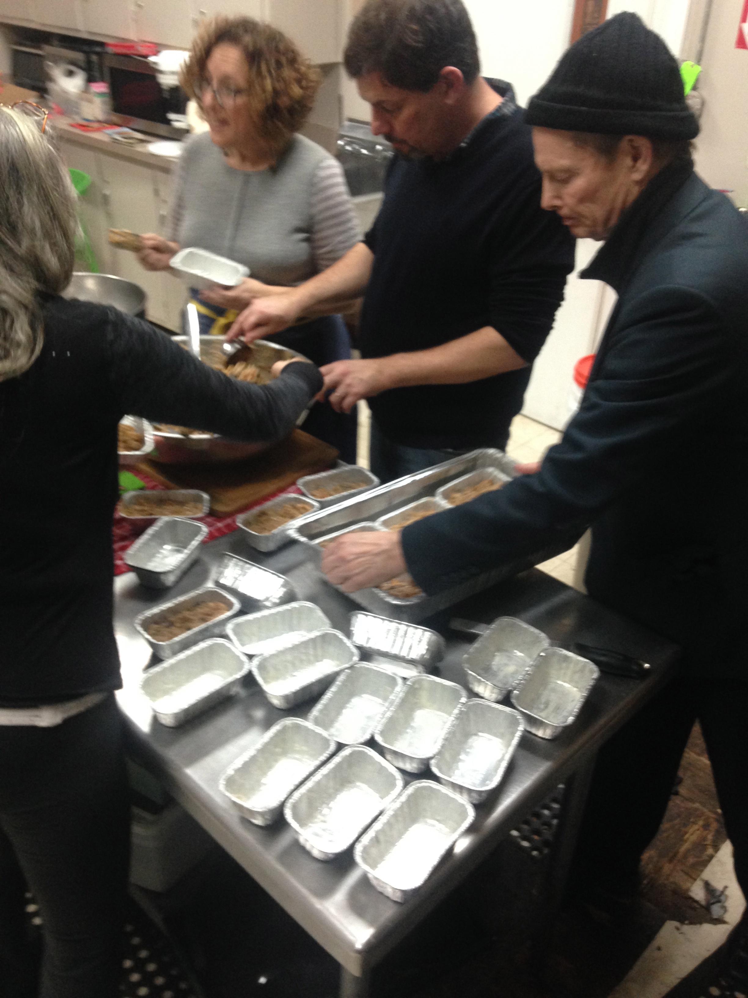 a spontaneous fruitcake assembly line