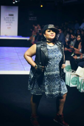 Tanvi walking the ramp with her inimitable style and confidence