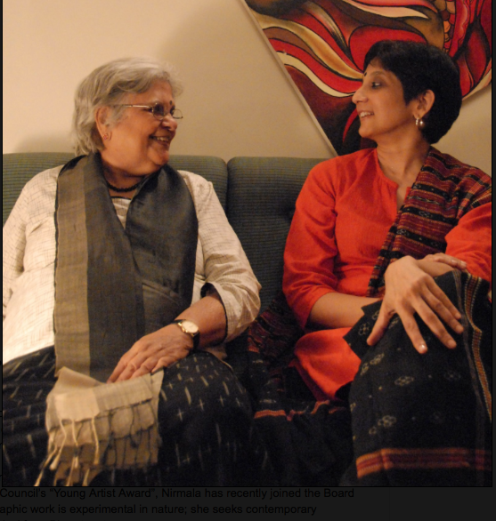 Vasanthi and me, Photo: Yann Pitchal