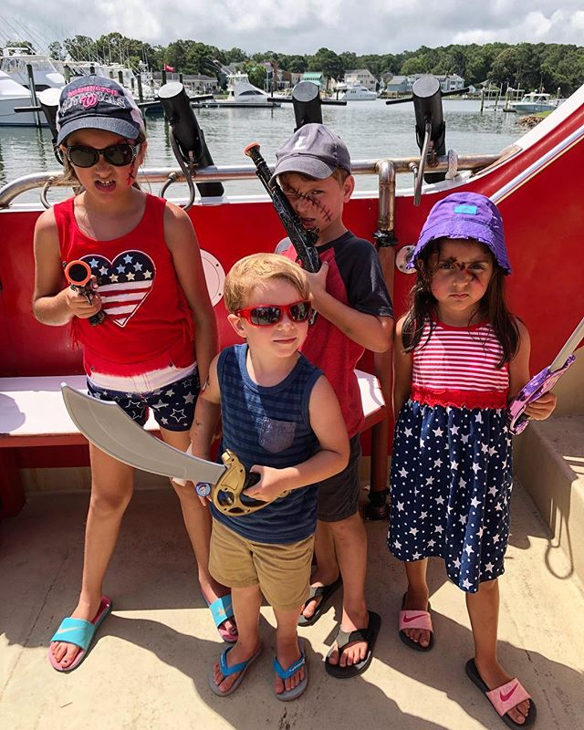 Happy 4th from our crew to yours! #thesacredeveryday #sandbridge2018