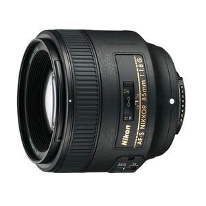 Nikon   AF-S Nikkor 85mm f/1.8G — світлосильний, портретний  об'єктив