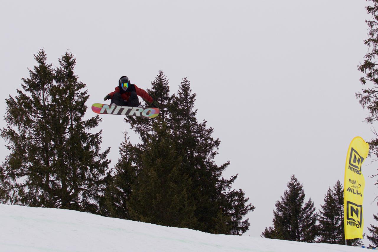 Bayerischer Meister Slopestyle 2018 - Niklas Bothe - representing Nitro Snowboars.