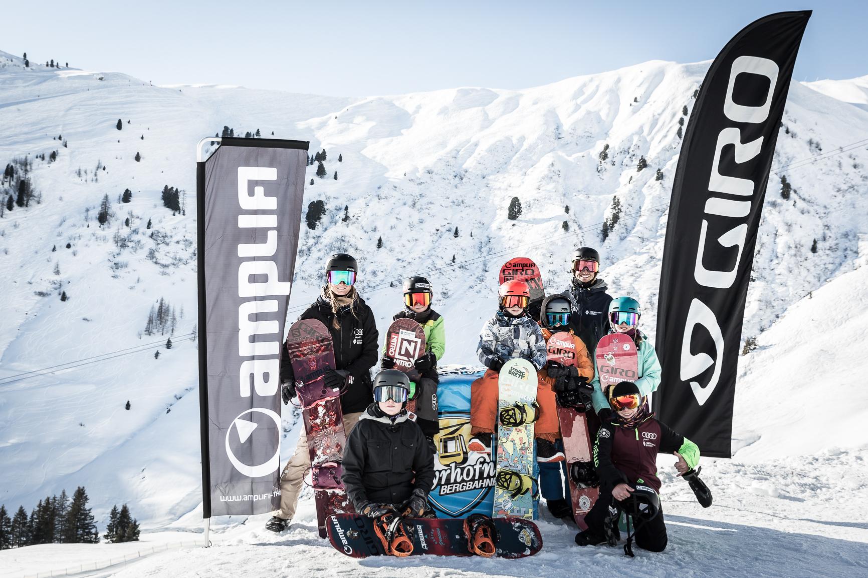 TSV 1860ski Snowboardlions Team in Mayrhofen