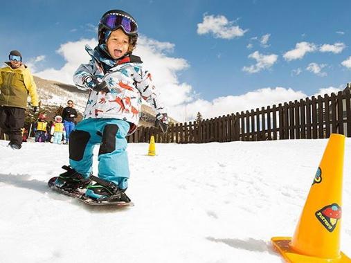 Riglet Snow Leihmaterial    Jetzt für deinen nächsten Schnupperkurs Snowboards für Kinder bestellen