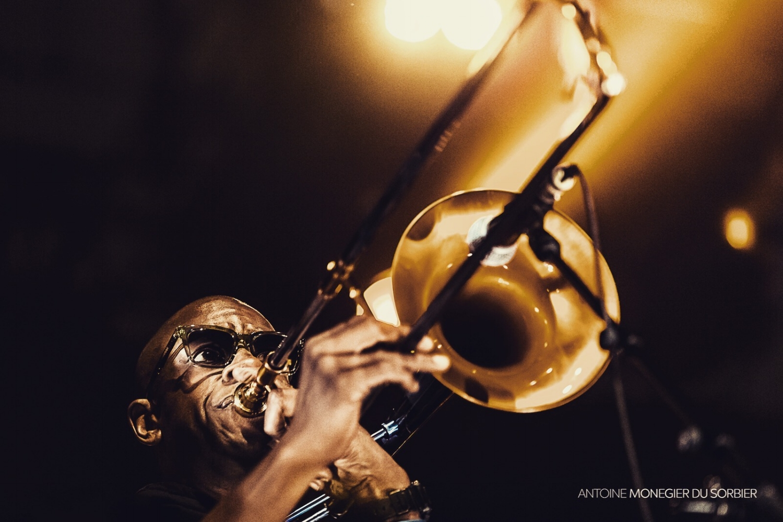 Kamasi Washington's trombonist