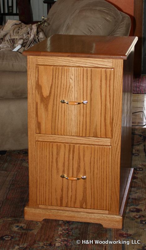 Custom filing cabinet