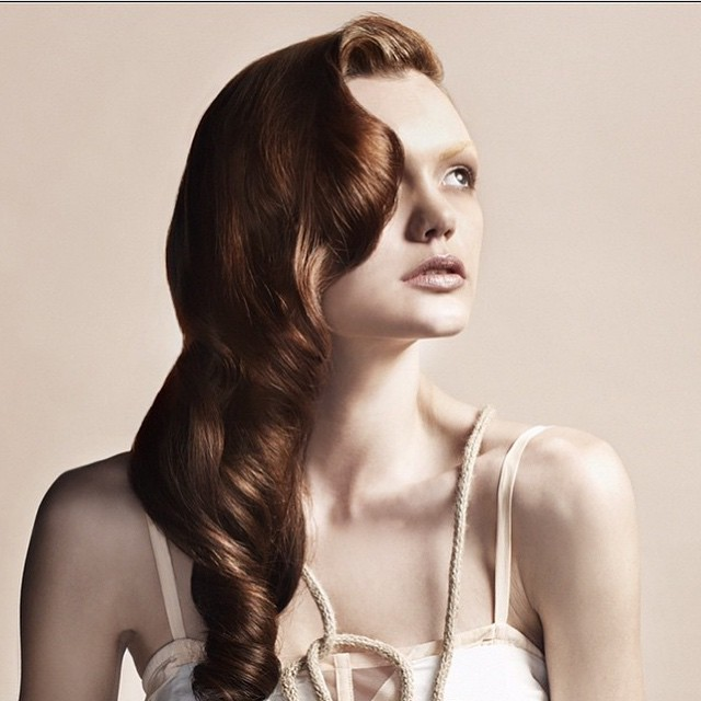 Beautiful photo shoot by #kristinasoljo colour by Belinda Jeffrey and hairstyling by @jonsewellhair