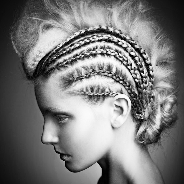 Love love a cornrow, we all can't wait to train with the master @kstoddart tomorrow 👌#inspiration #hair #styling #cornrow #editorial