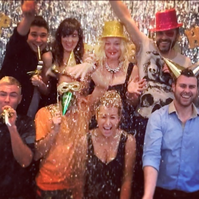 Happy New Year from the La Boutique Team!!! Kickstarting an awesome 2014 :) xx (at La Boutique)