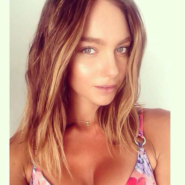 #regram from @hannah__saul looking #summer #ready #gorgeous #hair #colour by @timbencole for @sunseekeraustralia #makeup @bycharlotte_ @chicmanagement (at La Boutique)