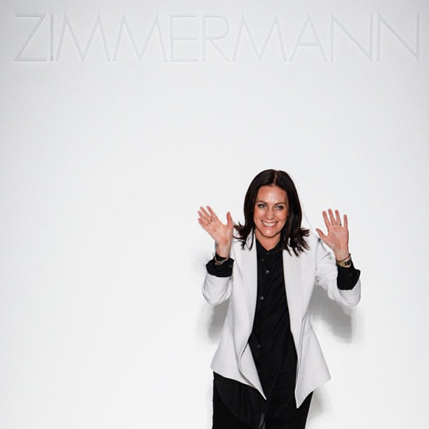 So proud of our girls @zimmermann_ Nikki and Simone #killing it in #nyc #nyfwzimmermann #theringmaster #SS14 so #beautiful