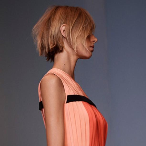 #LOVE @victoriabeckham #VVB #SS14 #hot #hair