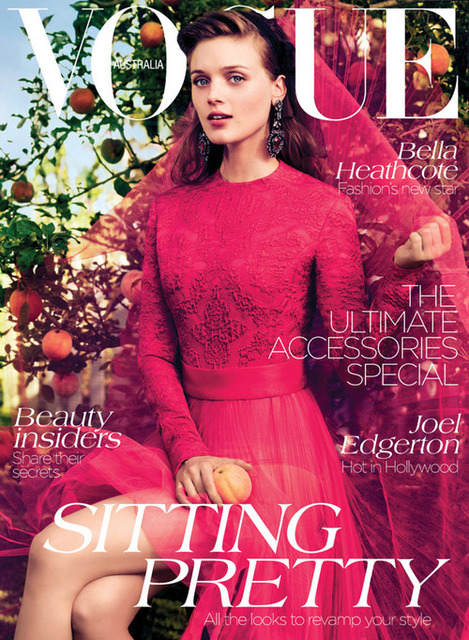 La Boutique would like to congratulate Edwina McCann on being appointed editor of Vogue Australia, and both us and our clients are loving her first issue! A taste of amazing things to come :D