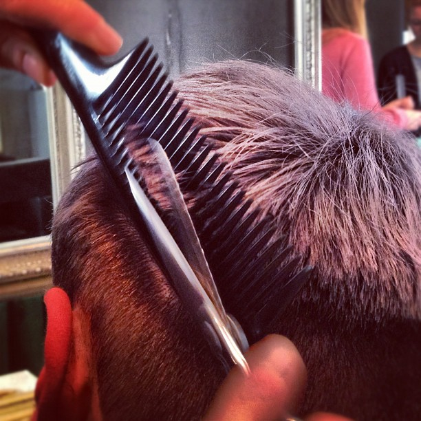 #hair #chop #cut (Taken with  Instagram  at La Boutique)
