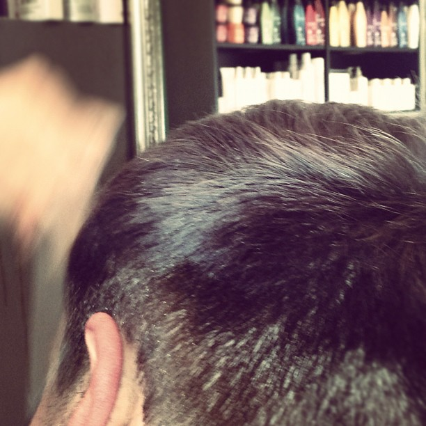 #hair #cut  (Taken with  Instagram )