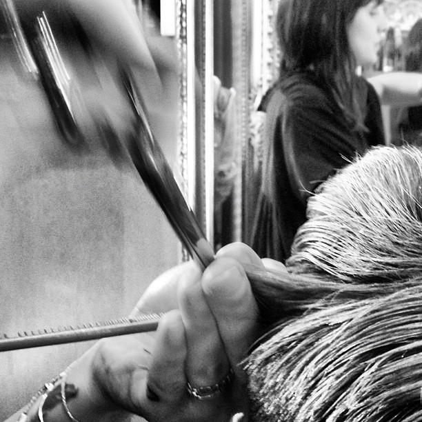 #hair #jessefurlan #chop (Taken with  Instagram  at La Boutique)