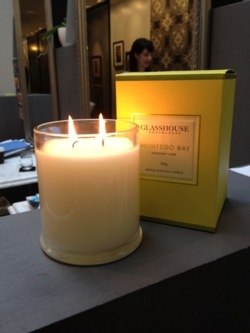 Why does La Boutique smell good enough to eat? It must be the new Glasshouse candles we've just got in from their latest 'Destinations Collection'! Our favourite is Montego Bay, with scents of coconut and lime it feels like summer even when the rain is pouring outside!             www.glasshousefragrances.com