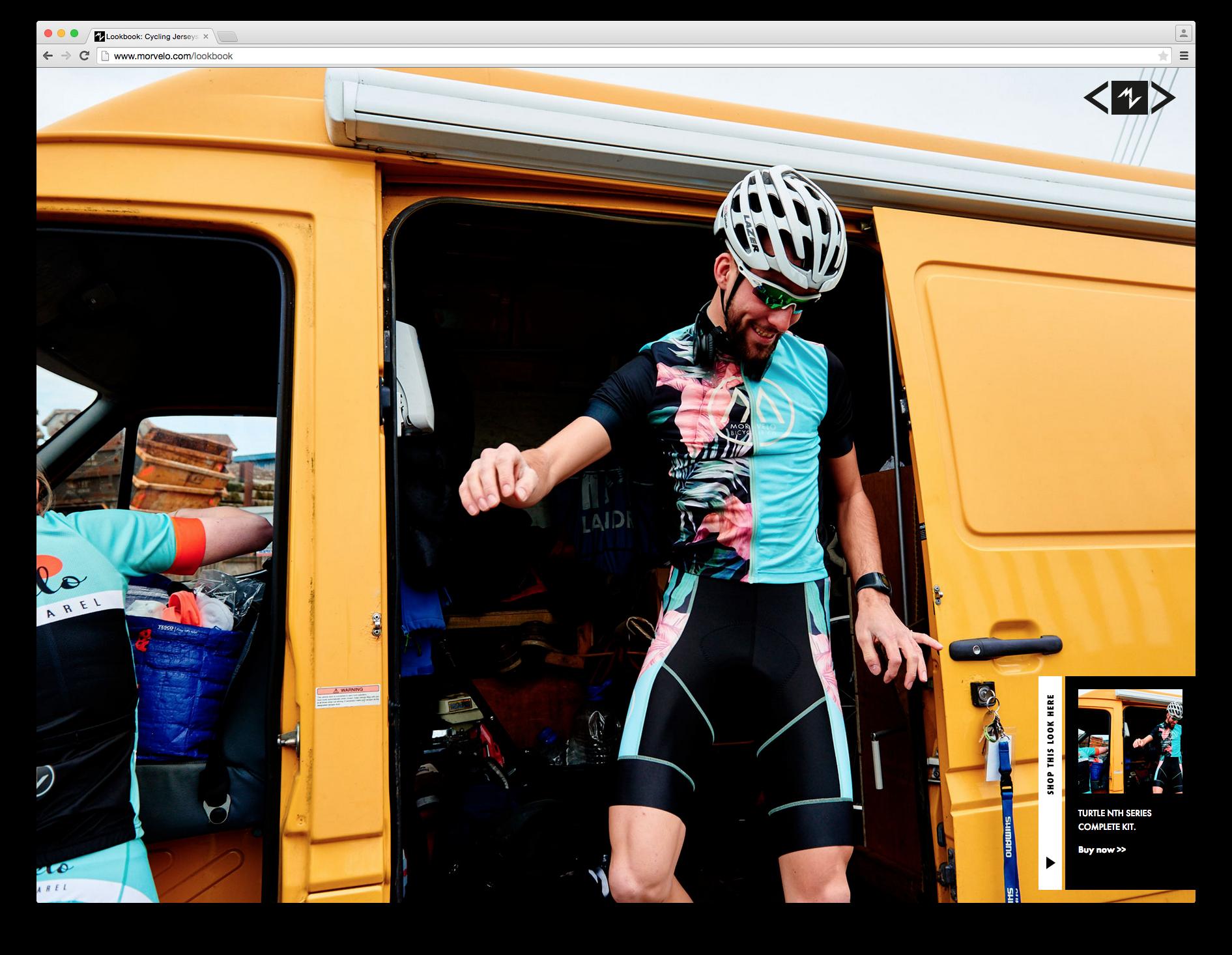 Morvélo cycling photography fashion apparel