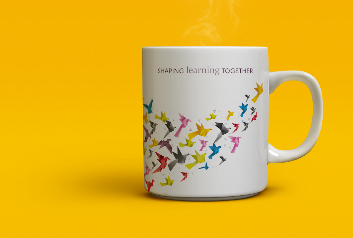 As branded mugs go, we like this one