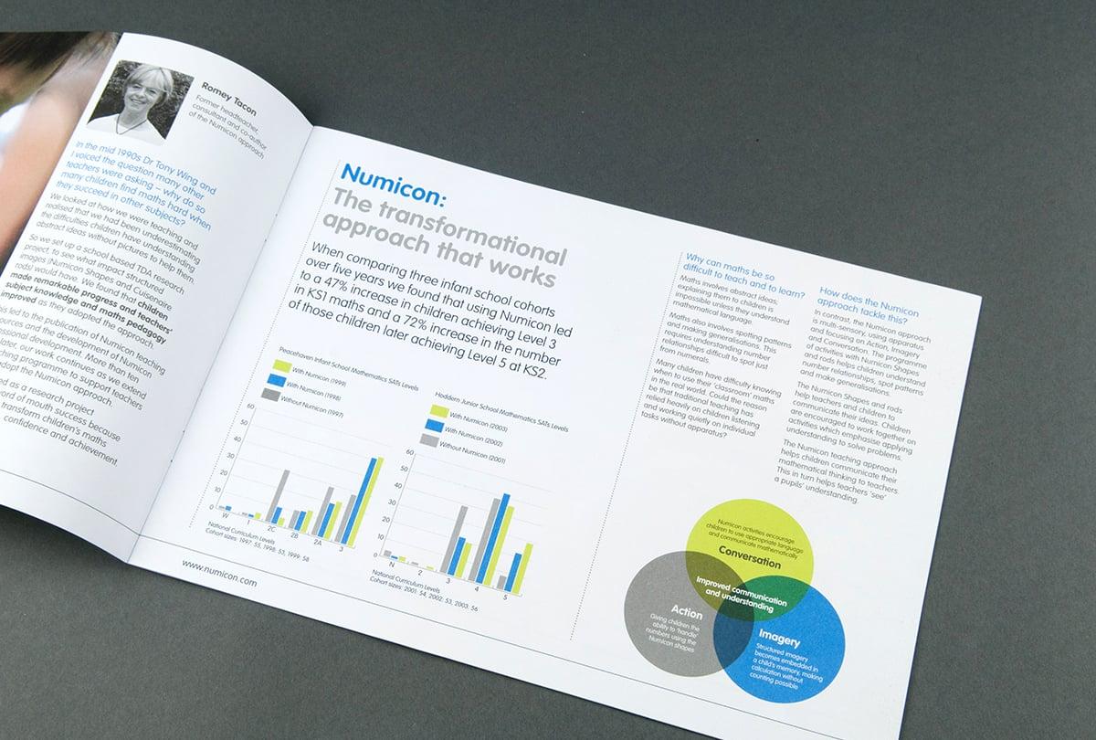 Professional development marketing brochure