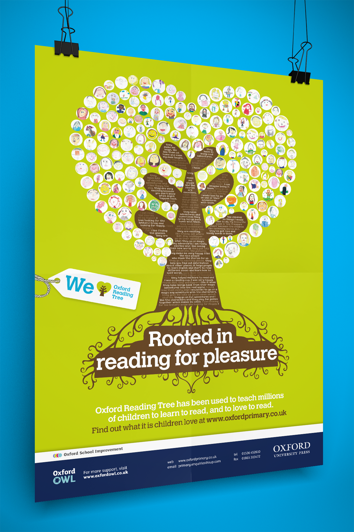 Poster and campaign design for Oxford Reading Tree